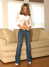 HOT tight bluejeans set!