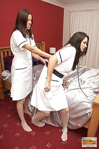 Nurse Fifi Giving A Lesson Bexey A Lesson