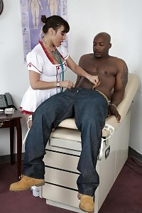 Big-tittied Teengirl Ava Devine Is A Indecent Nurse Who Accepts A Freaky Interracial Drilling With Her Playful Patient